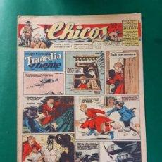 Tebeos: CHICOS-Nº366- AÑO 1945-LEER DESCRIPCIÓN.. Lote 198551123