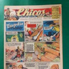 Tebeos: CHICOS-Nº367- AÑO 1945-LEER DESCRIPCIÓN.. Lote 198551198
