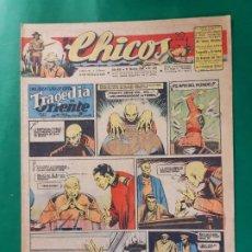 Tebeos: CHICOS-Nº368- AÑO 1945-LEER DESCRIPCIÓN.. Lote 198551290