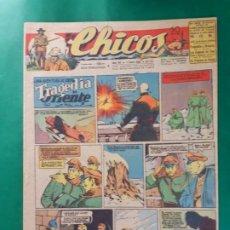 Tebeos: CHICOS-Nº371- AÑO 1946-LEER DESCRIPCIÓN.. Lote 198551368