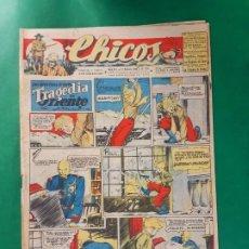 Tebeos: CHICOS-Nº374- AÑO 1946-LEER DESCRIPCIÓN.. Lote 198551478