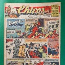 Tebeos: CHICOS-Nº379- AÑO 1946-LEER DESCRIPCIÓN.. Lote 198551745