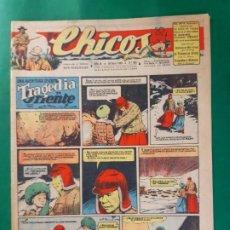 Tebeos: CHICOS-Nº383- AÑO 1946-LEER DESCRIPCIÓN.. Lote 198552068
