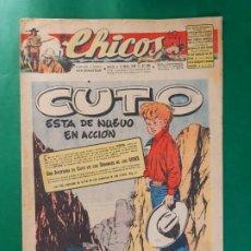 Tebeos: CHICOS-Nº385- AÑO 1946-LEER DESCRIPCIÓN.. Lote 198552377