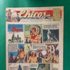 Tebeos: CHICOS-Nº398- AÑO 1946-LEER DESCRIPCIÓN.. Lote 198552783