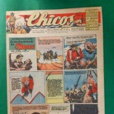 Tebeos: CHICOS-Nº401- AÑO 1946-LEER DESCRIPCIÓN.. Lote 198552906