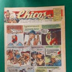 Tebeos: CHICOS-Nº402- AÑO 1946-LEER DESCRIPCIÓN.. Lote 198552997