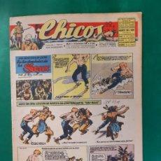 Tebeos: CHICOS-Nº403- AÑO 1946-LEER DESCRIPCIÓN.. Lote 198553065