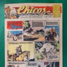 Tebeos: CHICOS-Nº404- AÑO 1946-LEER DESCRIPCIÓN.. Lote 198553152