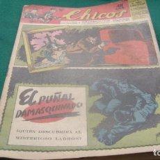 Tebeos: REVISTA CHICOS AÑOS 40 NUMERO 316 VER FOTOS. Lote 199987788