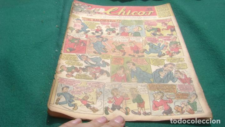 REVISTA CHICOS AÑOS 40 NUMERO 273 VER FOTOS (Tebeos y Comics - Consuelo Gil)