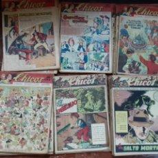 Giornalini: CHICOS, LOTE DE 125 EJEMPLARES SEGUIDOS DEL 207 AL 331, ED. CONSUELO GIL 1942,43,44. Lote 202576843