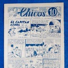 Giornalini: TEBEO CHICOS.Nº22....3 DE AGOSTO DE 1938. Lote 203282993