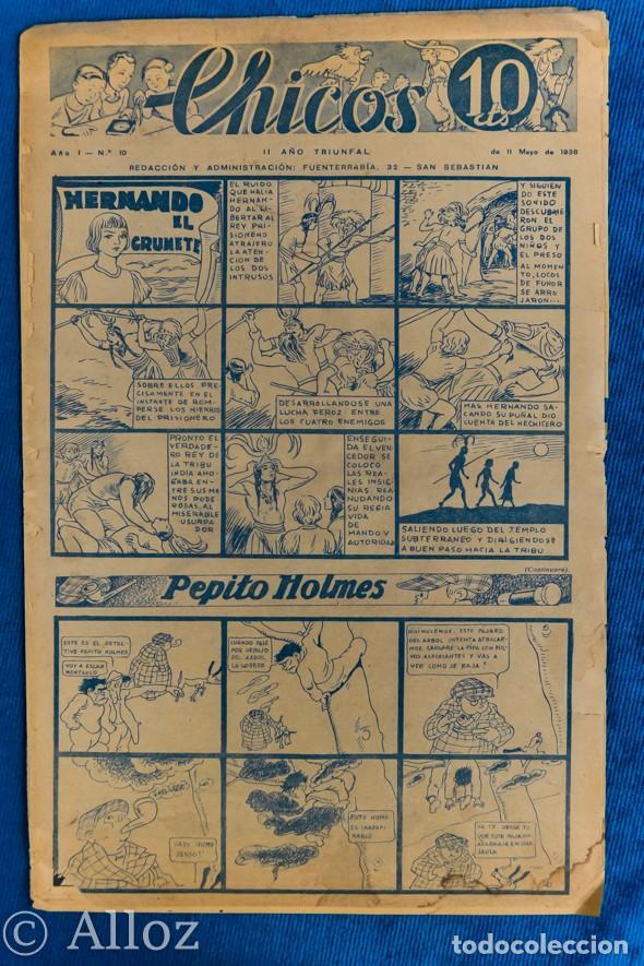 TEBEO CHICOS..Nº10/ MAYO 1938 (Tebeos y Comics - Consuelo Gil)