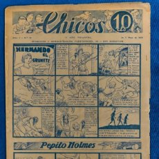 Tebeos: TEBEO CHICOS..Nº10/ MAYO 1938. Lote 205299845