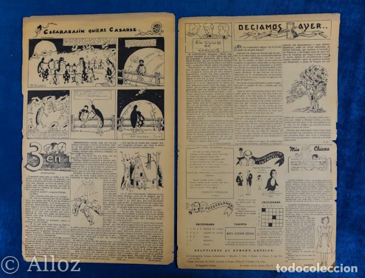 Tebeos: TEBEO CHICOS..Nº10/ MAYO 1938 - Foto 3 - 205299845