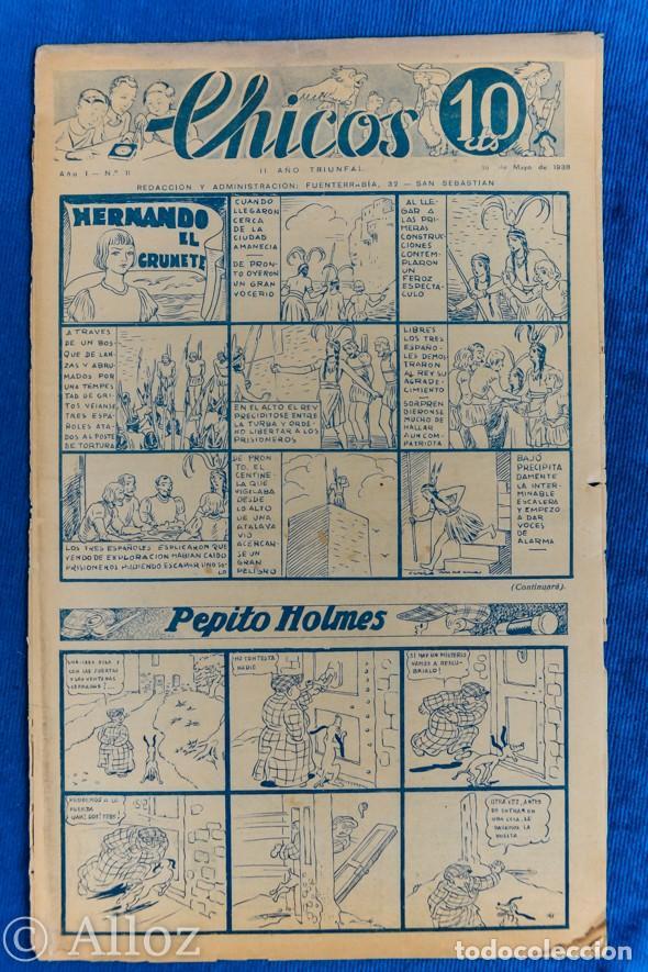 TEBEO CHICOS..Nº11/ MAYO 1938 (Tebeos y Comics - Consuelo Gil)
