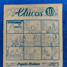Tebeos: TEBEO CHICOS..Nº11/ MAYO 1938. Lote 205300547