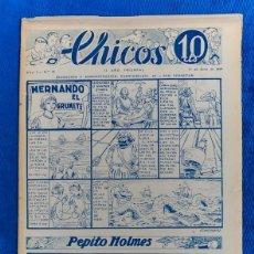 Tebeos: TEBEO CHICOS..Nº13 / JUNIO 1938. Lote 205301942