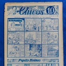 Tebeos: TEBEO CHICOS..Nº16 / JUNIO 1938. Lote 205304646
