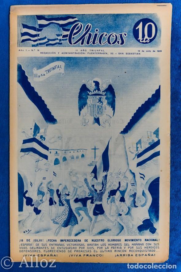 TEBEO CHICOS..Nº19 / JULIO 1938 (Tebeos y Comics - Consuelo Gil)