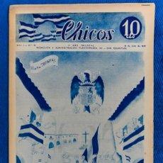 Tebeos: TEBEO CHICOS..Nº19 / JULIO 1938. Lote 205305403