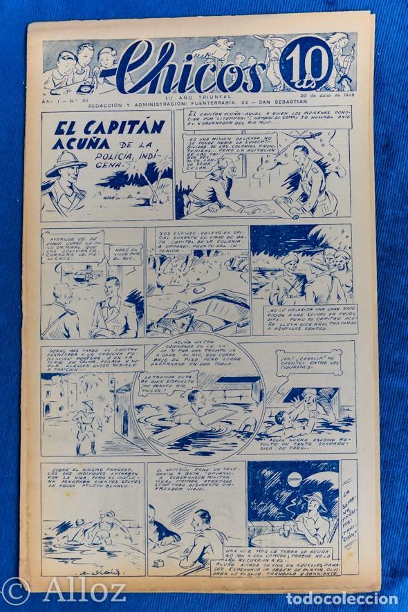 TEBEO CHICOS..Nº20 / JULIO 1938 (Tebeos y Comics - Consuelo Gil)