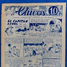 Tebeos: TEBEO CHICOS..Nº22 / AGOSTO 1938. Lote 205306122