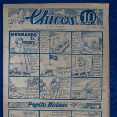 Tebeos: TEBEO CHICOS..Nº15 / JUNIO 1938. Lote 205317526
