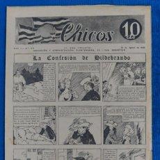Tebeos: TEBEO CHICOS..Nº26 / AGOSTO 1938. Lote 205351853
