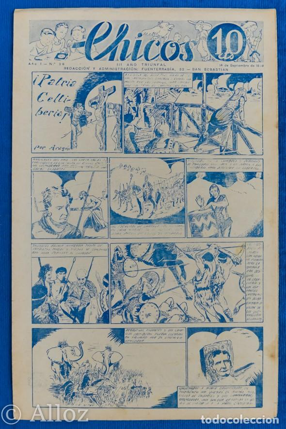TEBEO CHICOS..Nº28 / SEPTIEMBRE 1938 (Tebeos y Comics - Consuelo Gil)