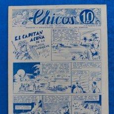 Tebeos: TEBEO CHICOS..Nº29 / SEPTIEMBRE 1938. Lote 205353133