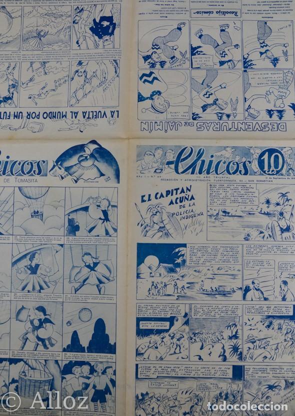 Tebeos: TEBEO CHICOS..Nº29 / SEPTIEMBRE 1938 - Foto 2 - 205353133