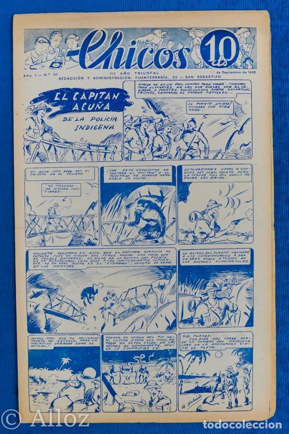 TEBEO CHICOS..Nº30 / SEPTIEMBRE 1938 (Tebeos y Comics - Consuelo Gil)