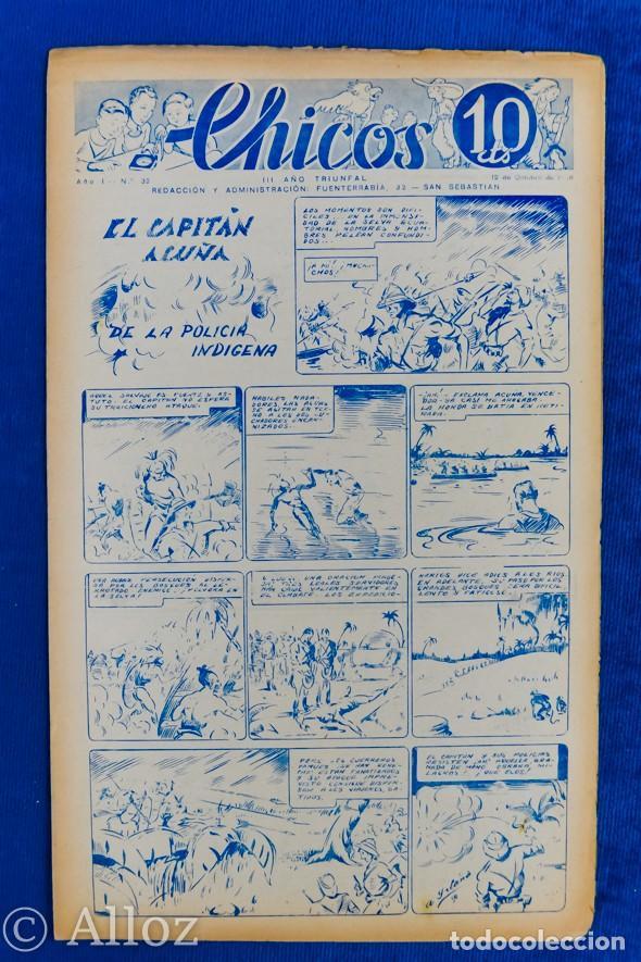 TEBEO CHICOS..Nº32 / OCTUBRE 1938 (Tebeos y Comics - Consuelo Gil)