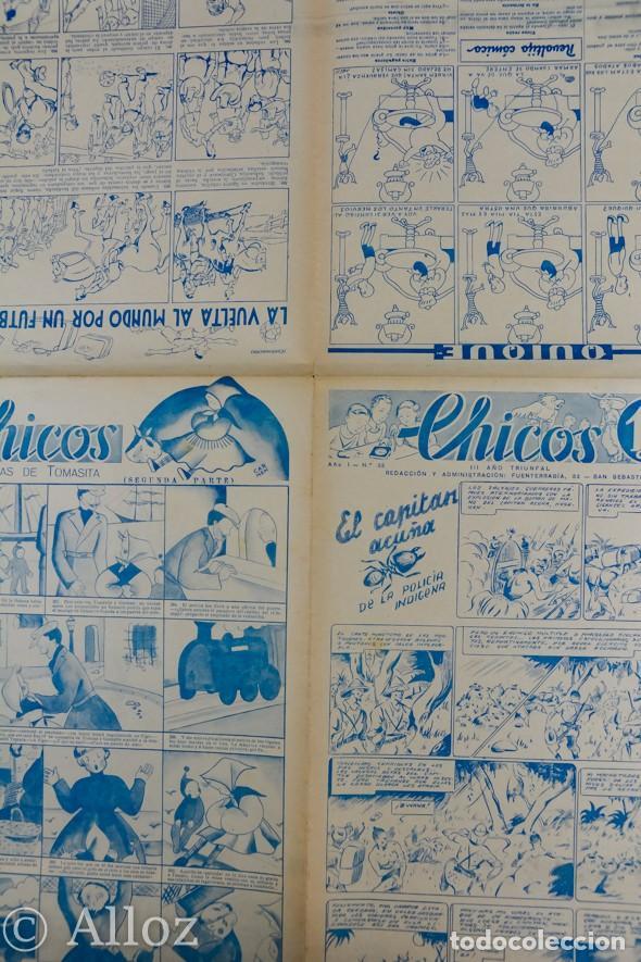 Tebeos: TEBEO CHICOS..Nº33 / OCTUBRE 1938 - Foto 2 - 205354573