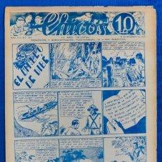 Tebeos: TEBEO CHICOS..Nº 37 / NOVIEMBRE 1938. Lote 205356767
