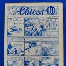 Tebeos: TEBEO CHICOS..Nº 39 / NOVIEMBRE 1938. Lote 205357470