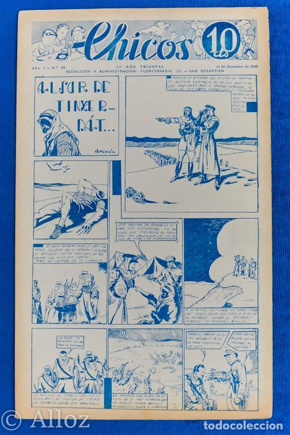 TEBEO CHICOS..Nº 42 / DICIEMBRE 1938 (Tebeos y Comics - Consuelo Gil)