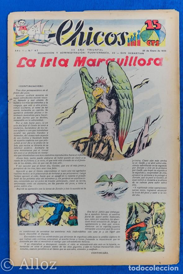 TEBEO CHICOS..Nº 47 / ENERO 1939 (Tebeos y Comics - Consuelo Gil)