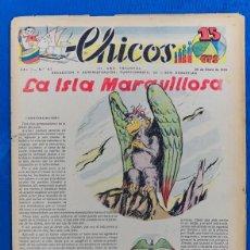 Tebeos: TEBEO CHICOS..Nº 47 / ENERO 1939. Lote 205371683