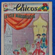 Tebeos: TEBEO CHICOS..Nº 49 / FEBRERO 1939. Lote 205372175