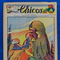 Tebeos: TEBEO CHICOS..Nº 53 / MARZO 1939. Lote 205372907