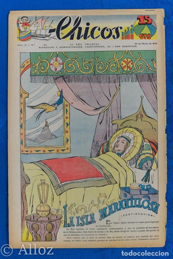 TEBEO CHICOS..Nº 55 / MARZO 1939 (Tebeos y Comics - Consuelo Gil)
