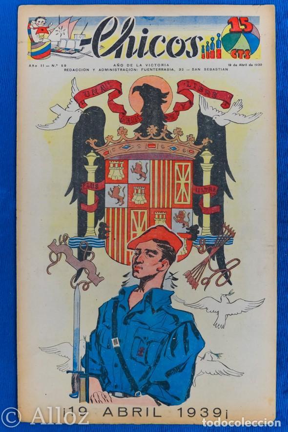 TEBEO CHICOS..Nº 59 / ABRIL 1939 (Tebeos y Comics - Consuelo Gil)