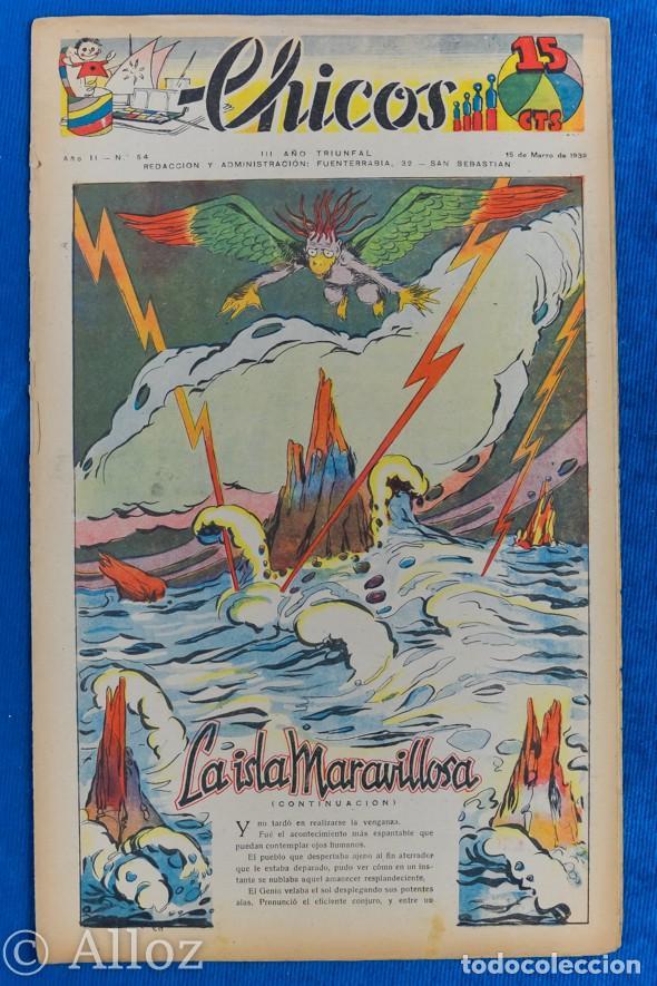 TEBEO CHICOS..Nº 54 / MARZO 1939 (Tebeos y Comics - Consuelo Gil)