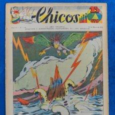 Tebeos: TEBEO CHICOS..Nº 54 / MARZO 1939. Lote 205509725