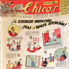 Tebeos: TEBEOS CHICOS 10 EJEMPLARES ORIGINALES. NÚMEROS 428 A 437. MARZO/MAYO 1947. Lote 209016475