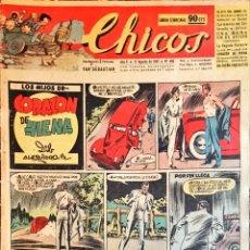 Tebeos: TEBEOS CHICOS. NÚMEROS 448, 449 Y 450. AGOSTO 1947. Lote 209017625