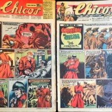 Tebeos: TEBEOS CHICOS. NÚMEROS 453,454 Y 455. SEPTIEMBRE 1947. Lote 209017973